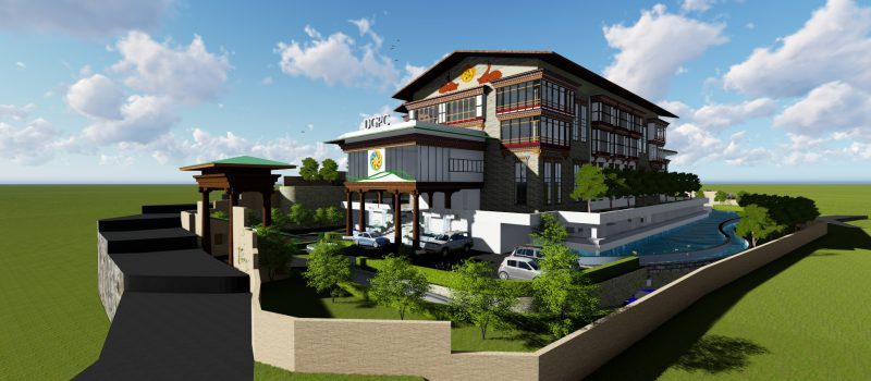 3D of Corporate Office